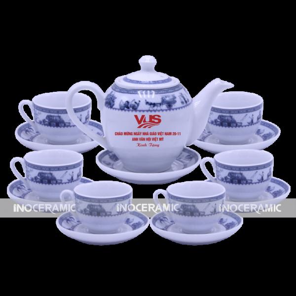 in logo lên âm trà tại hà nội
