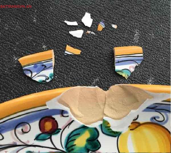 sửa đồ dùng bằng gốm sứ