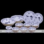 Bộ bàn ăn cá ghép đôi - quà tết cao cấp tại Tân Bình