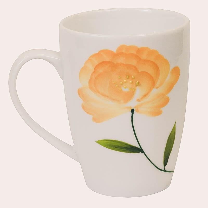 Ly sứ vẽ hoa hồng, mua ly sứ đẹp tại Tphcm