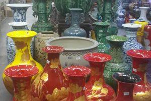 Bình hoa đẹp gốm Sứ Bát tràng – Cung cấp bình hoa gốm sứ đẹp