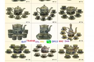 Những mẫu ấm trà bọc đồng cao cấp Bát Tràng – Xưởng sản xuất