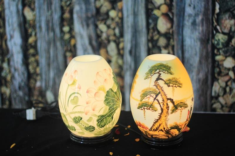 Cách sử dụng đèn xông tinh dầu bằng điện, đèn xông tinh dầu Bát Tràng