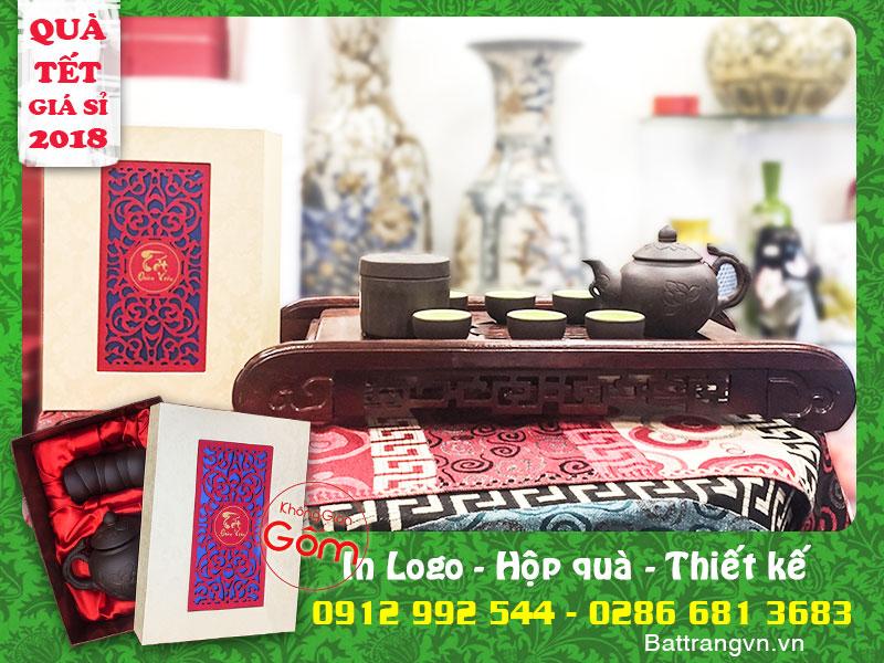 Đây chắc chắn là các mẫu ấm chén quà biếu tết tại Tân Phú bạn đang tìm kiếm