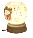 đèn xông tinh dầu Bát Tràng đẹp vẽ Helo kyty