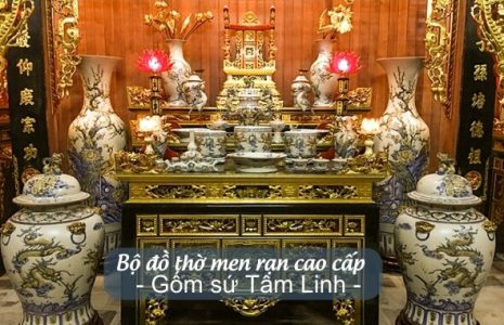 Đồ thờ đẹp sang trọng tại Tân Bình