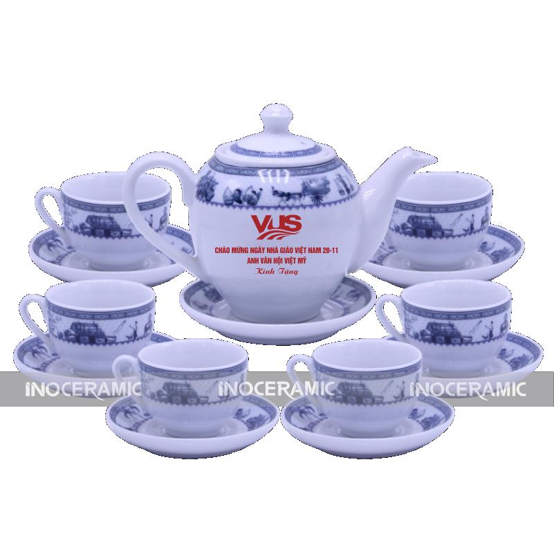 in logo lên âm trà tại Bắc Giang