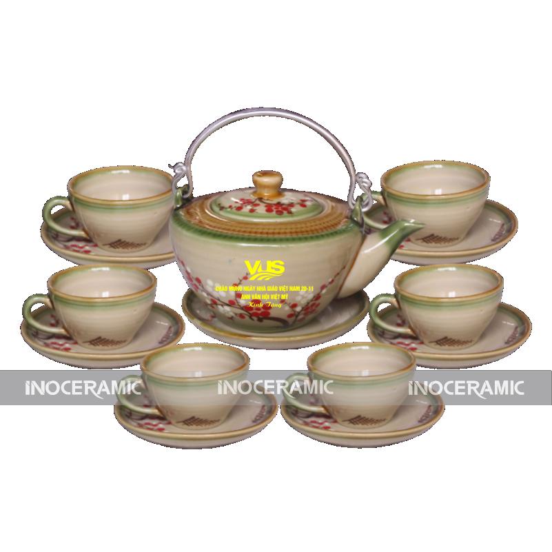 in logo lên ấm trà tại Hưng Yên