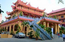 Chùa phường 2 Tân Bình