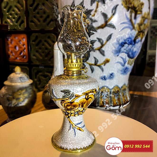 Đèn dầu Bát Tràng bán ở đâu - Đèn dầu tâm linh trong đời sống