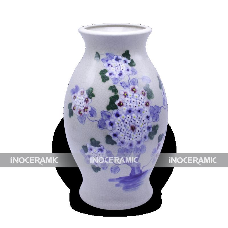 bình hoa gốm sứ Bát Tràng - Quà tặng Tết giá rẻ tại Bạc Liêu