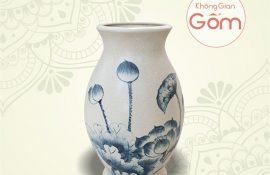 Giá lọ hoa gốm sứ bát tràng đẹp tại Tp.HCM