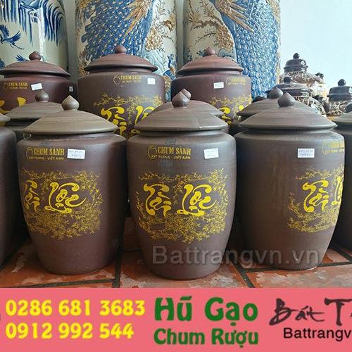 Chọn mua hũ gạo gốm sứ 10kg giá rẻ