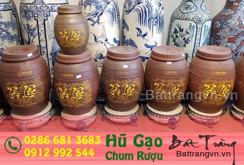 bình ngâm rượu Bát Tràng tại Tây Ninh