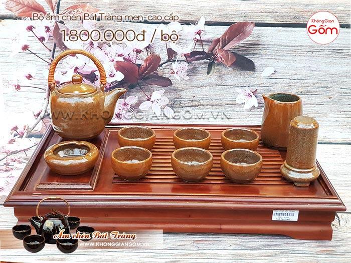 [Mới 2019] Các mẫu ấm chén quà biếu tết tại Tân Bình