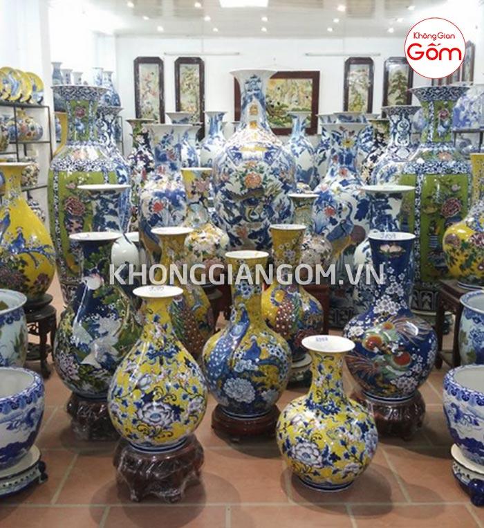 Mua đồ trang trí bằng gốm sứ phong thủy Đà Nẵng │Không Gian Gốm