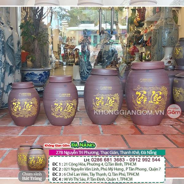 Địa chỉ mua hũ gạo tài lộc gốm sứ bát tràng tại Đà Nẵng