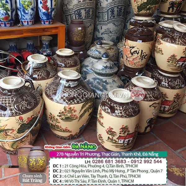 Mua thùng đựng gạo bằng gốm sứ tại Đà Nẵng