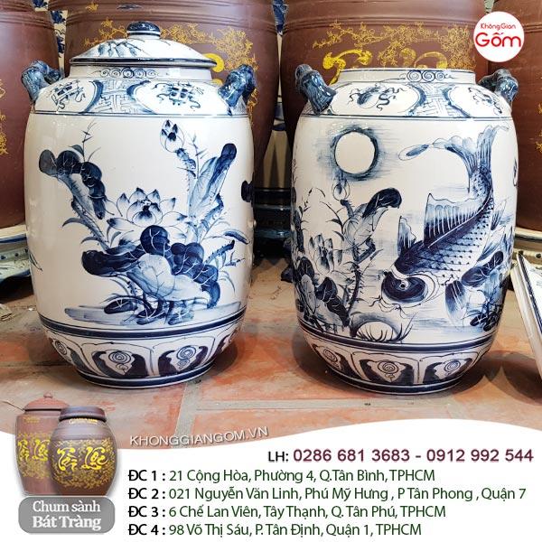 bình chum ngâm rượu đẹp tại Ninh Thuận
