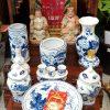Bộ bàn thờ Thần Tài Thổ Địa Gốm Sứ Bát Tràng đẹp rẻ