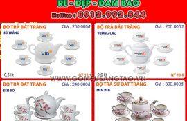 In logo quảng cáo thương hiệu Phú Nhuận tphcm - gốm sứ theo yêu cầu
