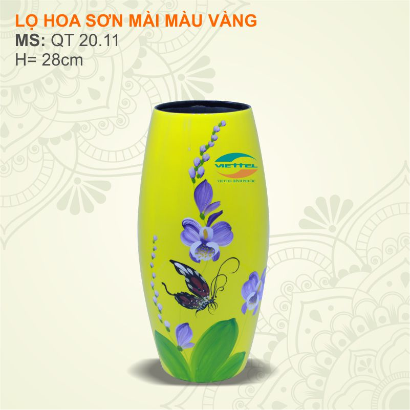 Bình hoa đẹp gốm Sứ Bát tràng - Cung cấp bình hoa gốm sứ đẹp