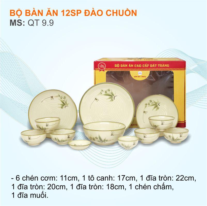 mẫu bát đĩa quà biếu tết tại Tân Phú được mua nhiều nhất