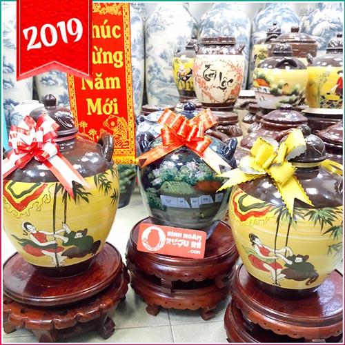 Chum sành tại TPHCM - Cửa hàng bán Hũ gạo, Bình ngâm rượu Sài Gòn