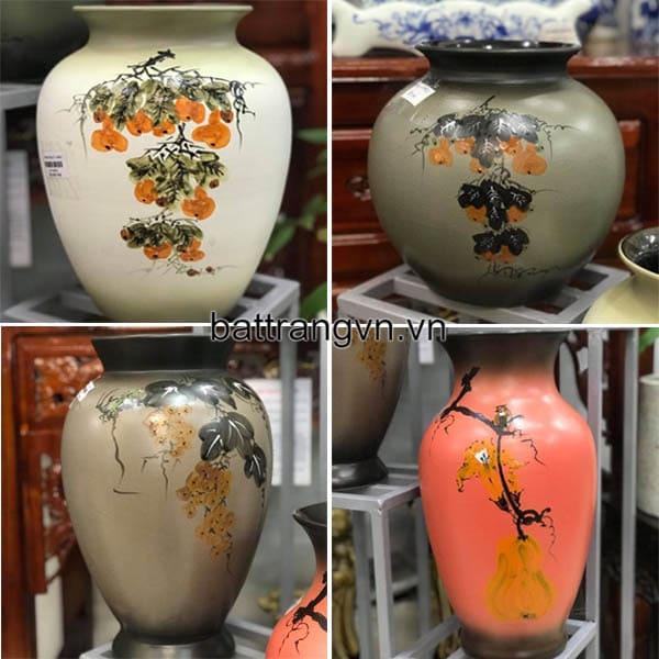 bình hoa trang trí gốm sứ
