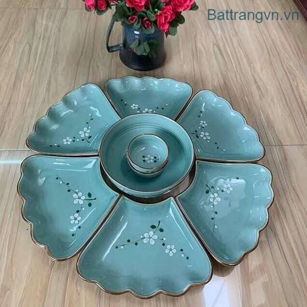 bộ bát đĩa hoa mặt trời
