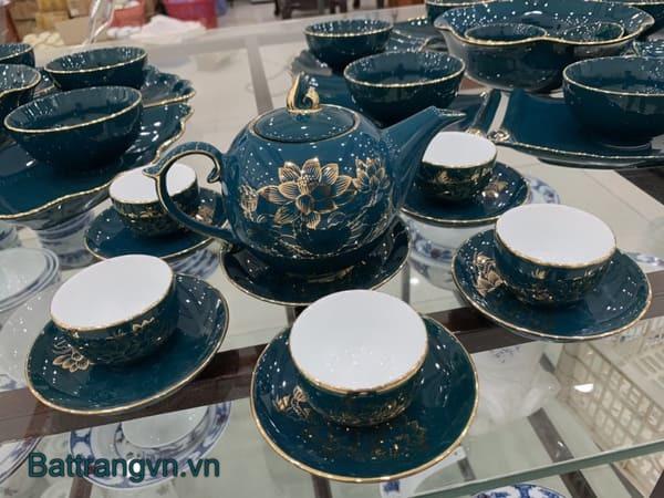 mua bộ ấm trà bát tràng tại quận Tân Bình