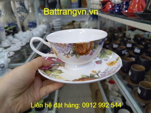 ly sứ cốc sứ tách sứ Bát Tràng