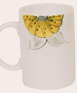 ly sứ đẹp, cốc sứ uống nước cao cấp