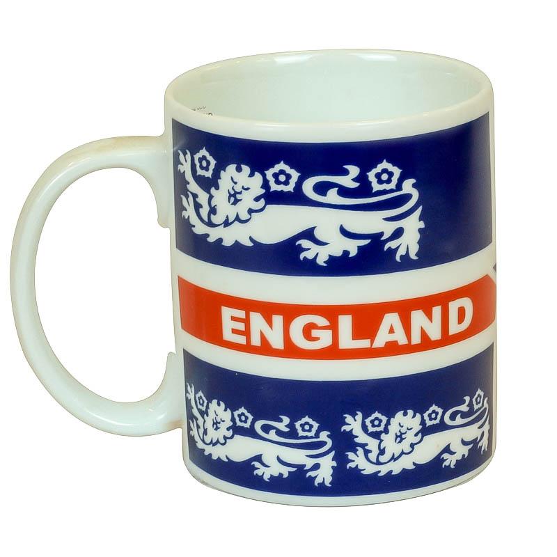 ly sứ in logo đội tuyển Anh