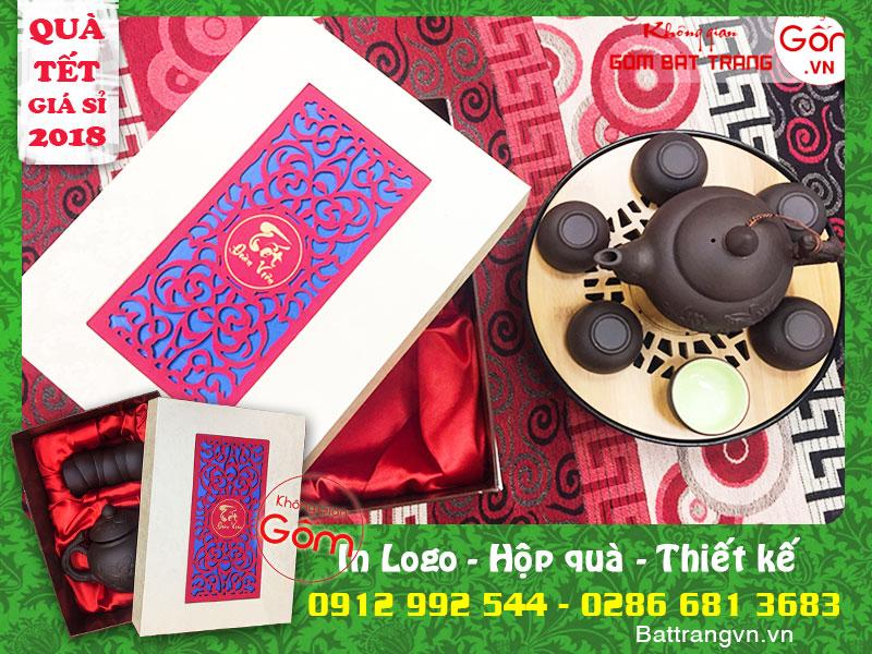 [Mới 2018] Các mẫu ấm chén quà biếu tết tại Tân Bình