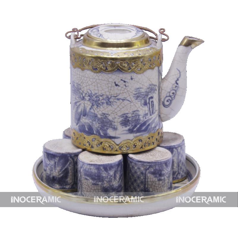ấm trà bát tràng đẹp giá rẻ