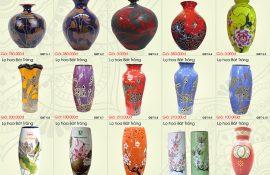 Bình hoa trang trí, địa chỉ mua bình hoa trang trí tặng quà tết tại quận 1