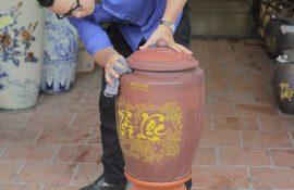 Mua hủ gạo, bình gạo gốm sứ Bát Tràng tại Hà Nội