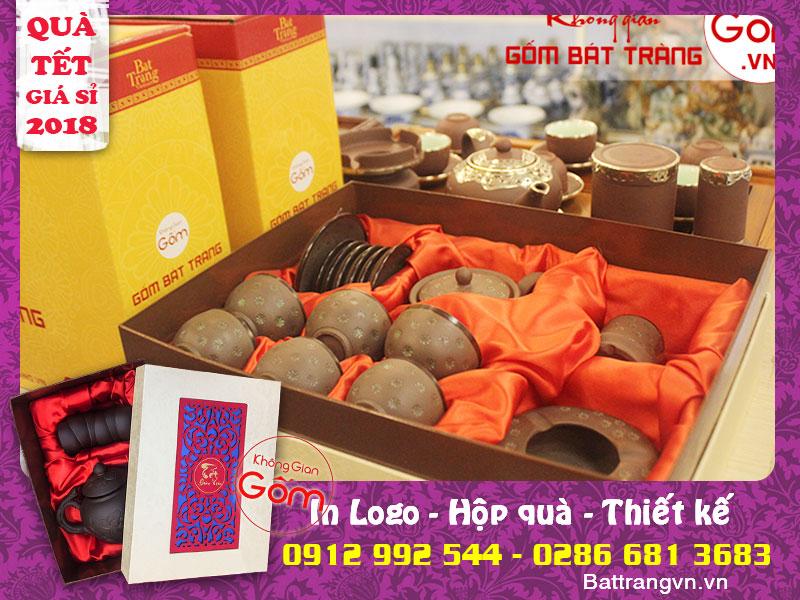 [Miễn phí] in logo, hộp quà đẹp - Quà biếu tết doanh nghiệp tại Tân Phú