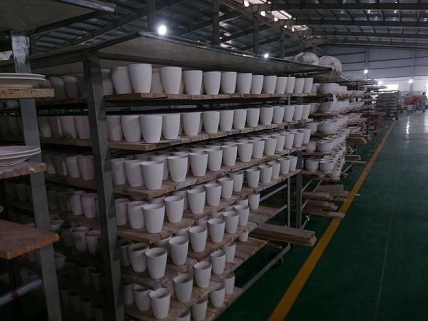 Xưởng sản xuất ly sứ Bát Tràng